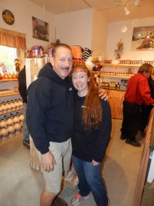 Steve and Amy Wheeler are the owners of Jed's.