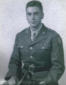 Sam Bly as a young man.